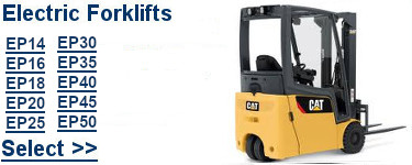 Select Cat Electric Forklifts